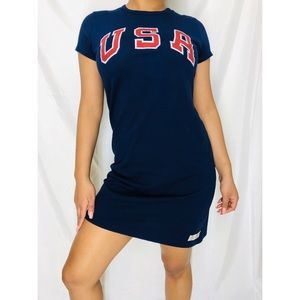 Navy blue Polo Ralph Lauren t-shirt dress